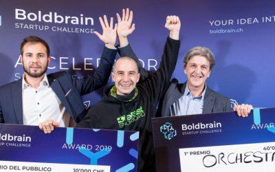 Orchestra: winner of Boldbrain Startup Challenge